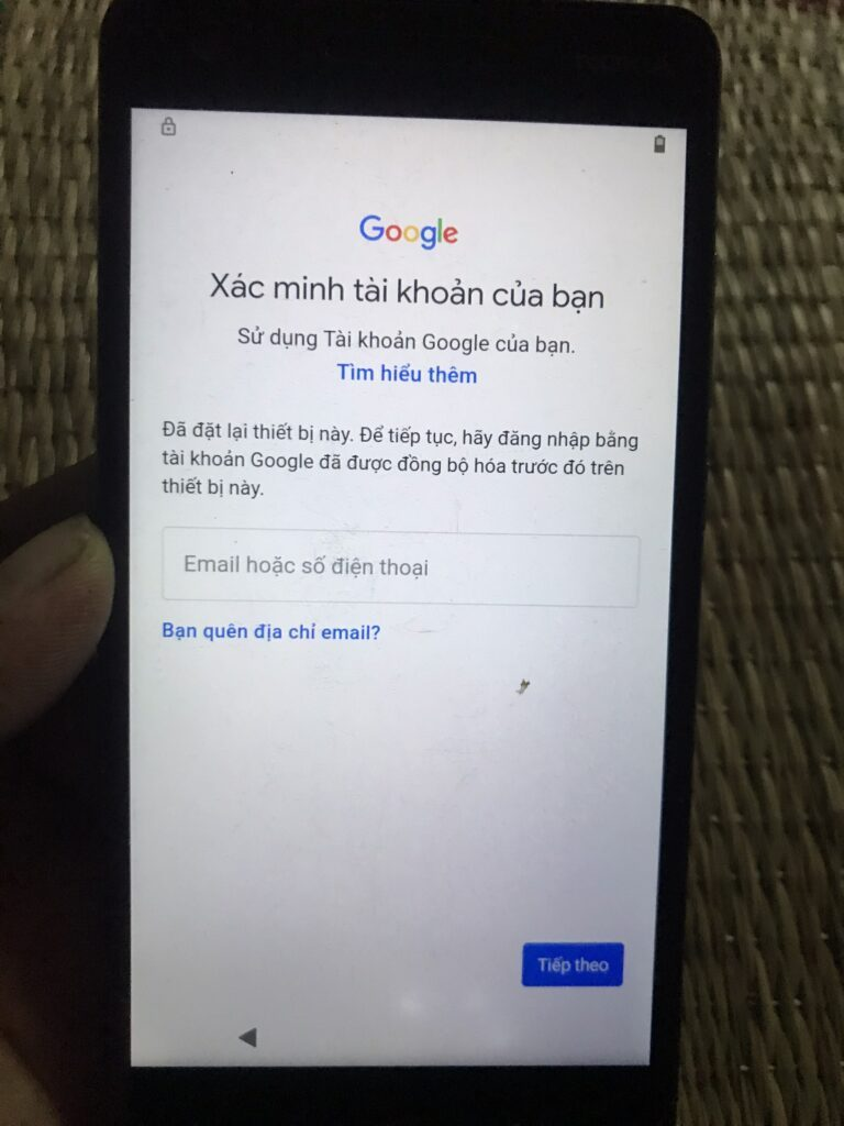 xác minh tài khoản google nokia 2.1(Ta-1080) android 10